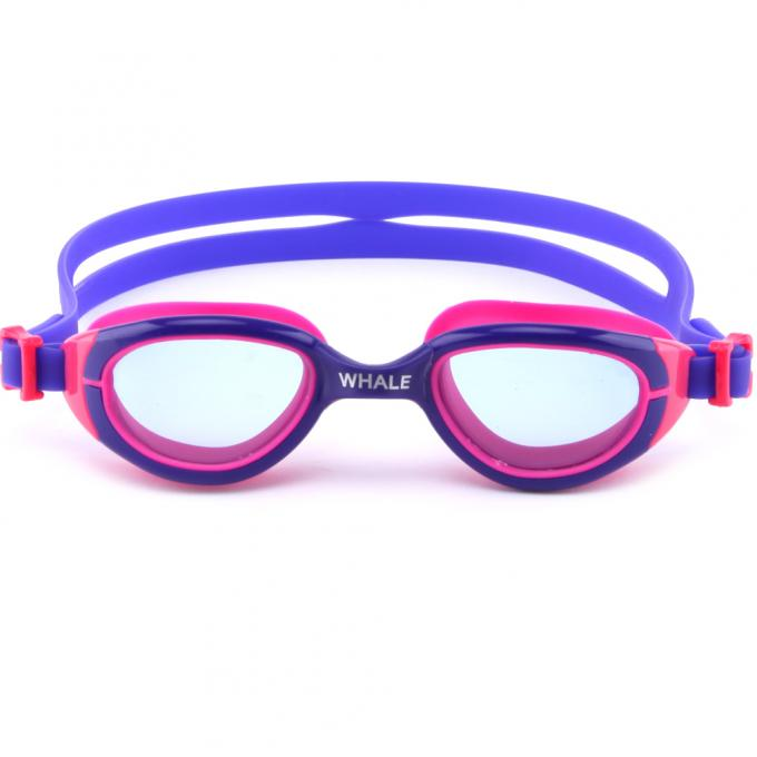 Crystal Vision Silicone Swimming Goggles Allergy Free With TPR Nose Piece