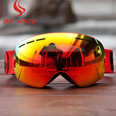 14417b0b8ddc Customized TPU Frame Interchangeable Lens Snowboard Goggles With Three  Layer Foam