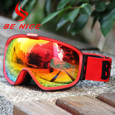 China Ski And Snowboard Goggles Mirror Lens supplier