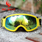 China Anti Dust Anti Glare Kids Ski Goggles With Revo Flash Lens And Polycarbonate Lens factory
