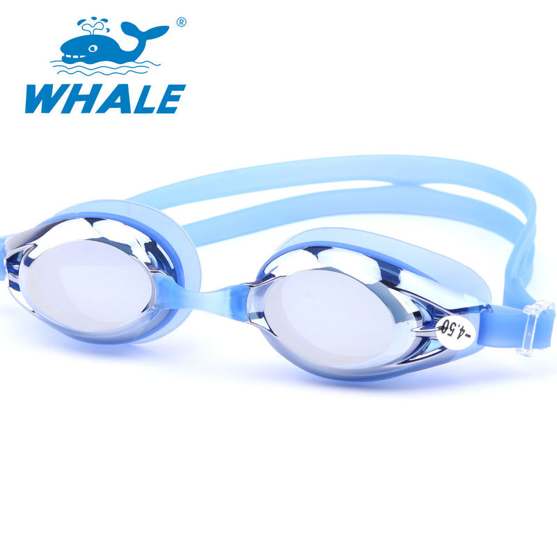 4f1fdd463cc Dark Tinted Corrective Nearsighted Swimming Goggles With High Quality  Molded Optical Lenses