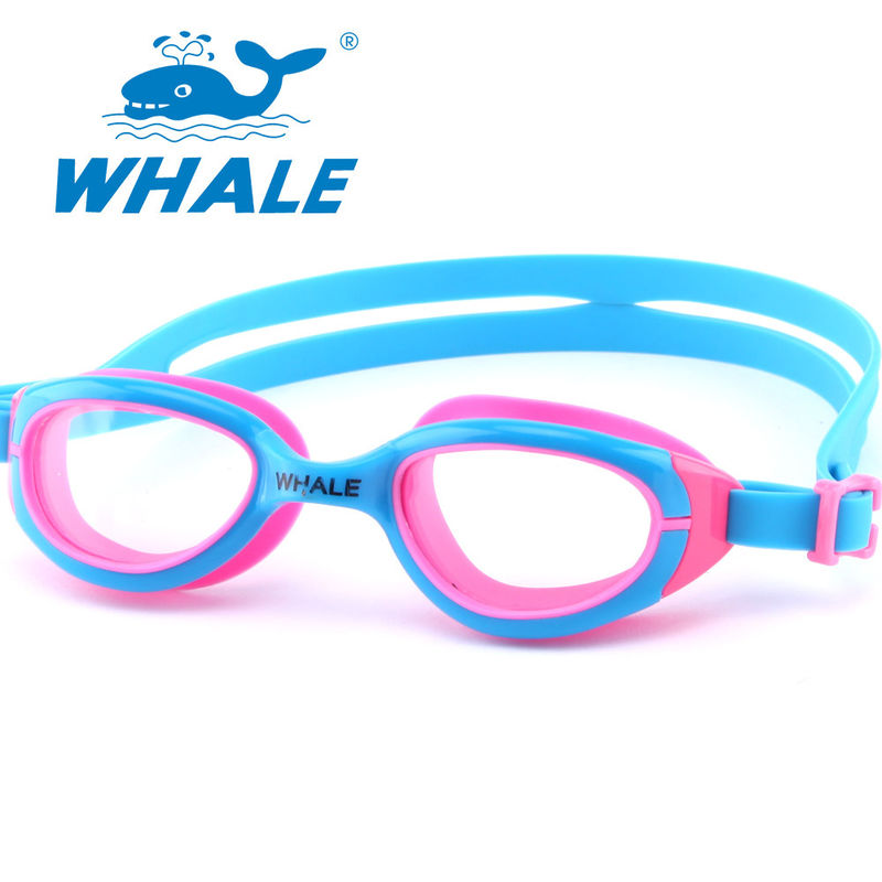 Novelty Watertight Kids Swim Goggles Clear Vision For Girls Water Sports Competition