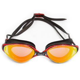 No Leaking Anti Fog UV Protection Swimming Goggles with Easy Adjustable strap