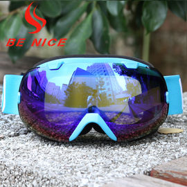 d7ae5c211e07 Mirror Coating Anti Fog OTG Ski Goggles With Two Way Venting For Clear  Vision