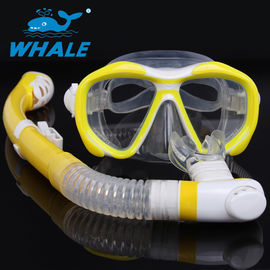 Durable Comfortable Diving Snorkel Set Safe Float Valve Ball Design , Easy Use