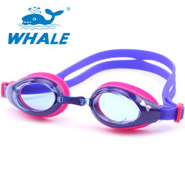 Clear Wide Vision Anti Fog Swim Goggles Two - Layer Gasket For 3 - 12 Years Old Child